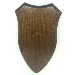 BushWear-Solid-Oak-Roe-Skull-Shield-Large