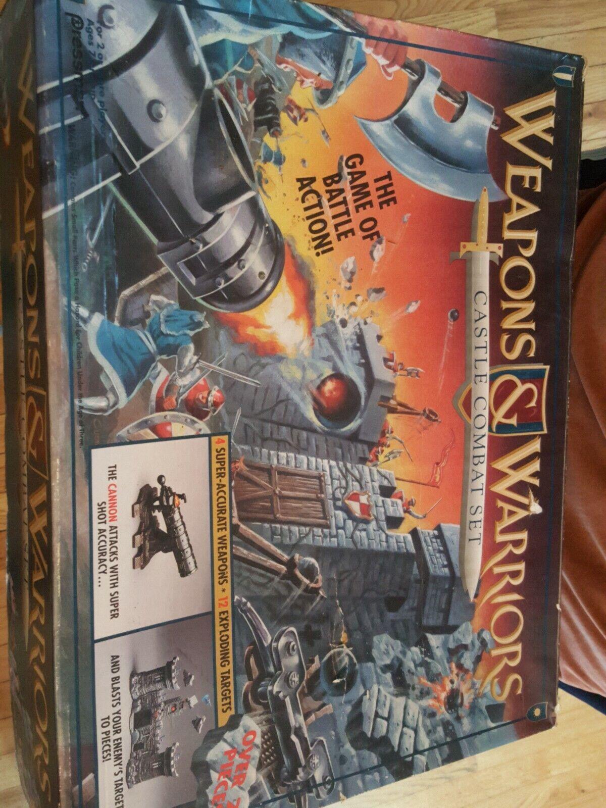 Armes et Guerriers  Château Combat Set Presshomme Board Game 1994-pour pièces  en bonne santé