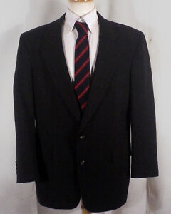 Euc Austin Reed Dillards Gray Striped 100 Wool Blazer Jacket Sportcoat Sz 42 R Ebay