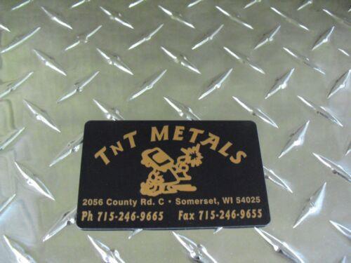 "1//8/"" Aluminum 12/"" x 60/"" 3003 Brite Diamond Tread Deck Plate"