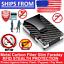 Slim-Carbon-Fiber-Credit-Card-Holder-RFID-Blocking-Metal-Money-Clip-Purse-Wallet thumbnail 1
