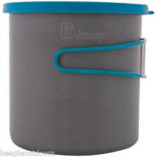 NEW Olicamp LT Lightweight 1L Hard Anodized Aluminum Pot Backpacking Cook
