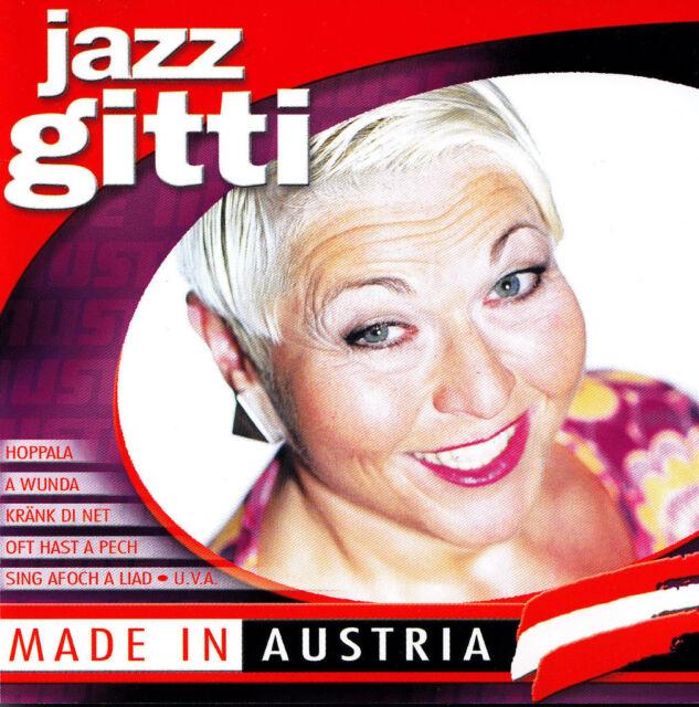 JAZZ GITTI - CD - MADE IN AUSTRIA ( Rar )