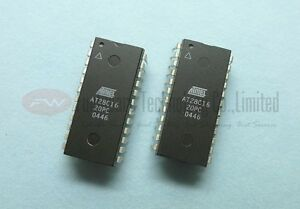 1PCS AT28C16-20PC AT28C16 20PC 28C16 2K x 8 EEPROM DIP-24 B2AE