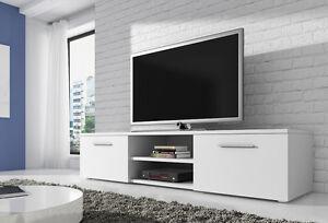 Meuble-TV-Armoire-Bas-Divertissement-Vegas-150-cm