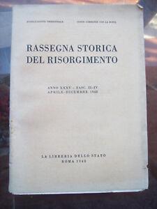 1948-RASSEGNA-STORICA-DEL-RISORGIMENTO-REPUBBLICA-ROMANA-MAZZINI-FUSINATO-SAVOIA