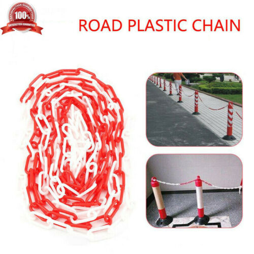 5m x6mm Plastic Chain Link 3 Colors Fencing Garden Decking Barrier Health/&Safety