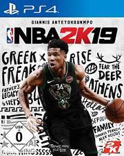 PS4 Spiel NBA 2K19 Basketball 2019 DHL Blitzversand NEUWARE