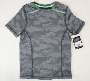 801acd61 Boys C9 Champion Short Sleeve Duo Dry Gray Camouflage T-Shirt - Pick ...