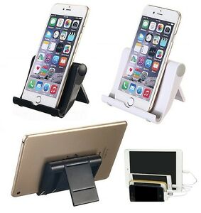 Details about Mini Folded Universal Desk Table Desktop Stand Holder For  Cell Phone Tablet Tab