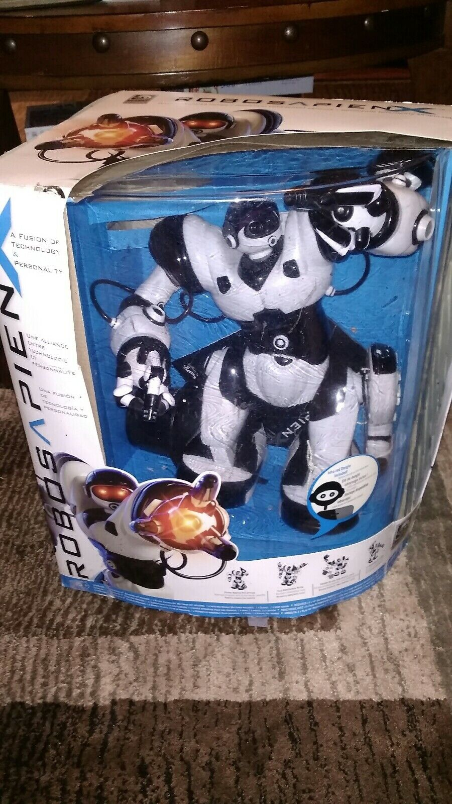 WowWee Robosapien X Robot bianca Kids Toy Gift Android