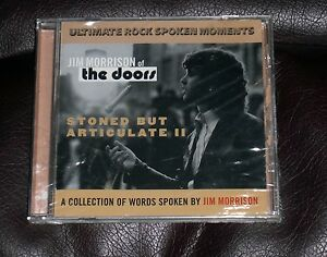 Details about SEALED JIM MORRISON of The Doors STONED BUT ARTICULATE II UK  CD spoken words