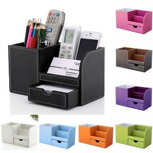 Home Office Desk Organizer Storage Box