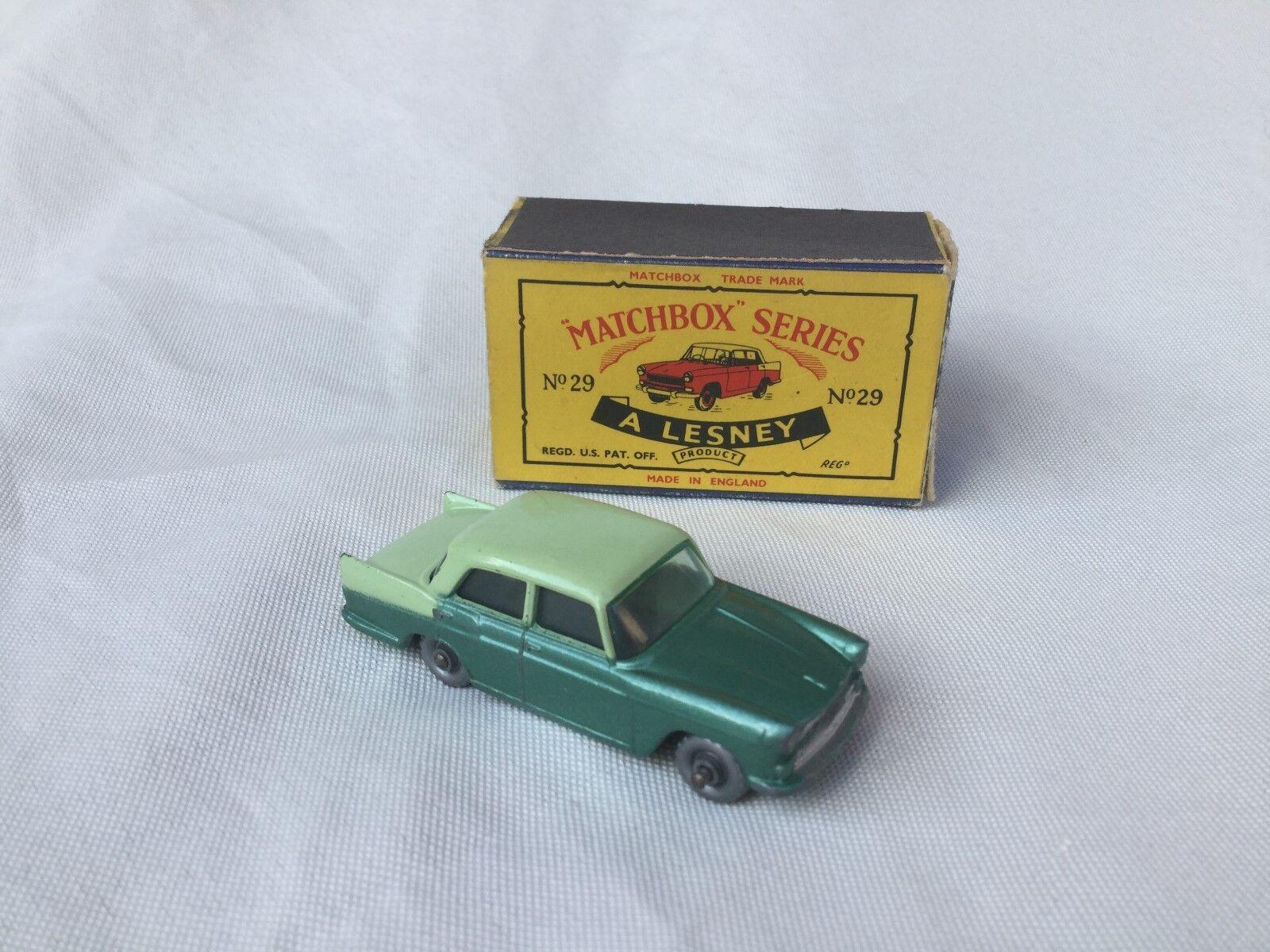 Matchbox Lesney No. 29 Austin A55 Cambridge Boxed