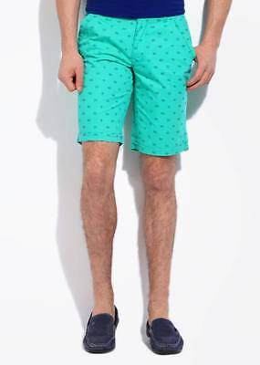 LAWMAN Printed Mens Basic Shorts (Flat 50% OFF) -D9D