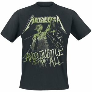 Copieux Metallica T-shirt Justice Vintage Size L Official Merchandise Remises Vente