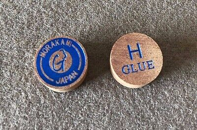 2 Tips G3 Hard Pool Cue Tip by Morakami w// FREE Shipping