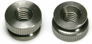18-8-Stainless-Steel-Knurled-Thumb-Nuts-USA-Made-Select-Size-amp-Qty