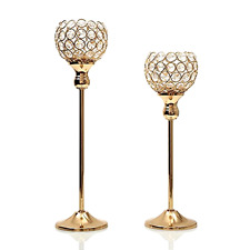 New Elegant Decorative Votive Candle Lantern for Wedding Party Supplies Set of 2