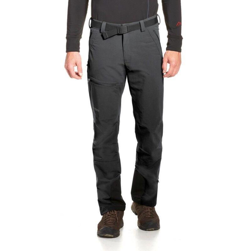 Maier Deportes naturno  Caminar Pantalones (Negro)  selección larga