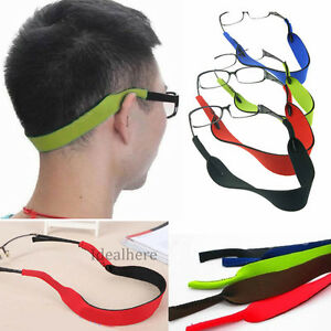 sports glasses band  Glasses Strap Neck Cord Sports Eyeglasses String Sunglasses Rope ...