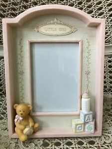 Baby Gift 9146 Russ Bernie /& Company Sweet Memories Pink and White Baby  Photo Frame Style No Baby Girl Picture Frame
