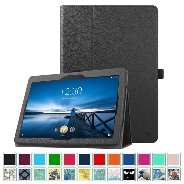 hot sale online ede55 5973e For Lenovo TAB E10 TB-X104F 10.1 Inch Android Tablet 2018 Folio Case Cover  Stand