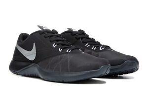 Nike FS Lite Trainer 4 844794-001 Anthracite Silver Black Mens US ... 83e568a0c