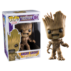 GUARDIANS OF THE GALAXY ANGRY GROOT Exclusive FUNKO POP Vinyl Figure NEW RARE