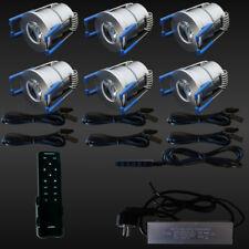 6er-SET LED-TERRASSENBELEUCHTUNG Minispot Terrasse Carport Beleuchtung DIMMBAR