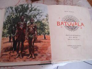 BECAT - BATOUALA -  René Maran - Ex. tête - 1947- coffret