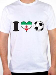 I LOVE FOOTBALL - Iran   Iranian   Flag   Sport   Novelty Themed ... b55570605