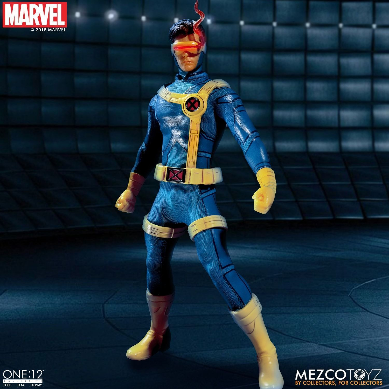 Pre-order 1 12  Mezco Toyz Ant 76920 X Man Cyclops Laser Eye Light Action Figure