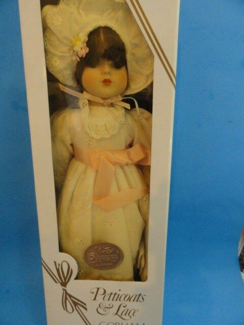PETTICOATS LACE GORHAM DOLL 5TH ANNIVERSARY:  LISA