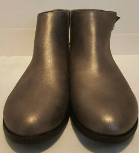 Cat-amp-Jack-Girls-Pewter-Jani-Boots-Size-6