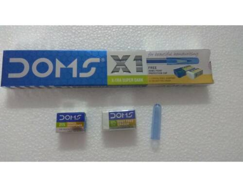 20x Doms X1 X-tra Super Dark PencilsHi Quality Graphite LeadDark Writing