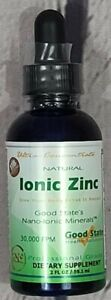 Good State Liquid Ionic Zinc Ultra Concentrate Dietary Supplement - 15mg/10 gtts