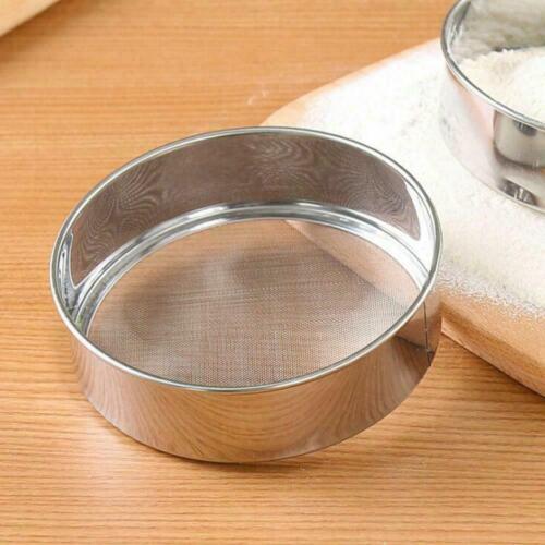 Oil Strainer Flour Colander Sifter Sieve Kitchen Stainless Wire Steel Mesh Sale
