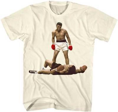 Muhammad Ali Over Liston Adult T Shirt Boxing Champ