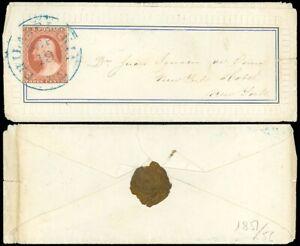1850-039-s-Embossed-Fancy-Border-Ladies-Cover-Blue-Philadelphia-Cds-NY-SCOTT-10A
