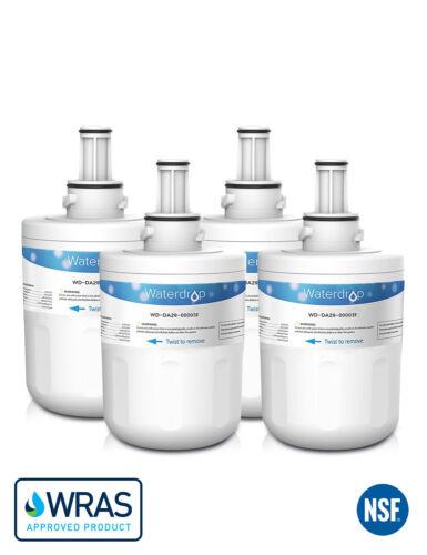 4 Samsung DA29-00003F HAFIN1//EXP Compatible Waterdrop Ice /& Water Fridge Filter