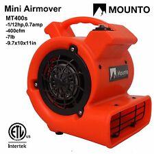 MOUNTO MT400s Air Mover Carpet Dryer floor dryer blower industry fan Airmover