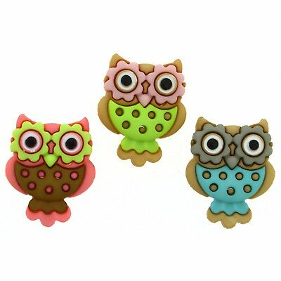 Jesse James Buttons ~ Dress It Up SEW CUTE OWLS 6930 ~ Sewing Crafts