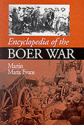 Encyclopedia of the Boer War Paperback Martin Marix Evans very good condition