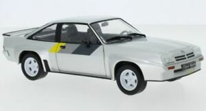 WHITE BOX 124043 OPEL MANTA B 400 diecast model road car silver 1981 1:24th