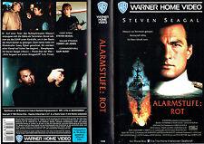 (VHS) Alarmstufe: Rot - Steven Seagal, Damian Chapa, Tommy Lee Jones, Gary Busey