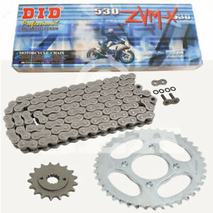Chain Set Honda CBR1000F 96-99 Chain DID 530 Zvm-X 114 Open 17/41