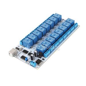 SainSmart-16-canales-9-36-V-USB-modulo-de-reles-Para-Arduino-Raspberry-Pi