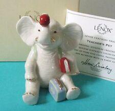 Lenox Elephant TEACHER'S PET Figurine #805147 - New in box