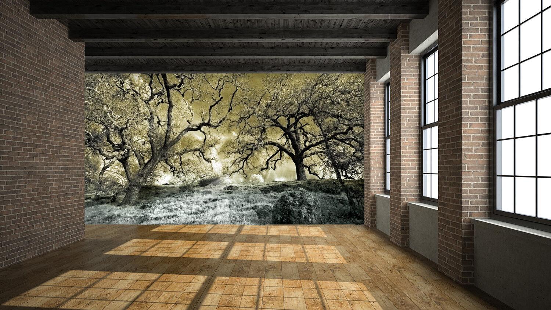 3D Branches 462 Wallpaper Murals Wall Print Wallpaper Mural AJ WALL UK Summer